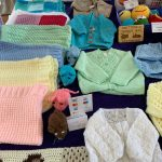 Creators of Craft Crafter May Willavoys Knitted Cardigans Blankets