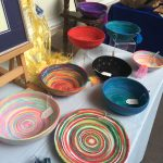 Creators of Craft Tewkesbury Anne Newbon Textile Art Bowl