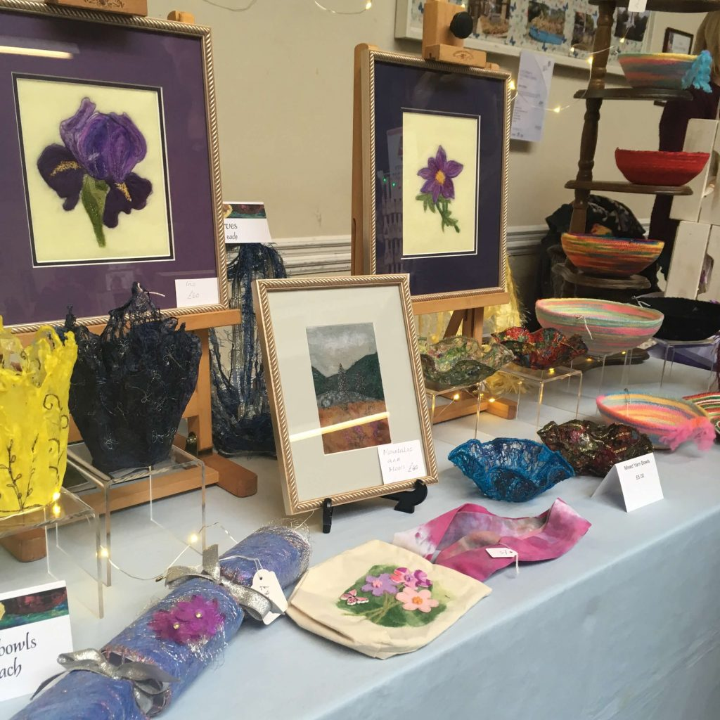 Creators of Craft Tewkesbury Anne Newbon Textiles Artist