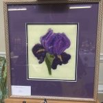 Creators of Craft Tewkesbury Anne Newbon Textiles Artist Purple