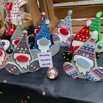 Creators of Craft Crafts Tewkesbury Bernadette Hambly Painted Pot Art Garden Decor Gnomes