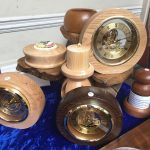 Creators of Craft Tewkesbury Bob Lewis Woodturner Clocks