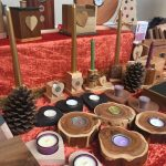 Creators of Craft Tewkesbury Clare Griffiths Wooden Ornaments Keepsakes Candle Holders