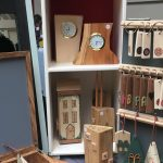 Creators of Craft Tewkesbury Clare Griffiths Wooden Ornaments Keepsakes Clocks