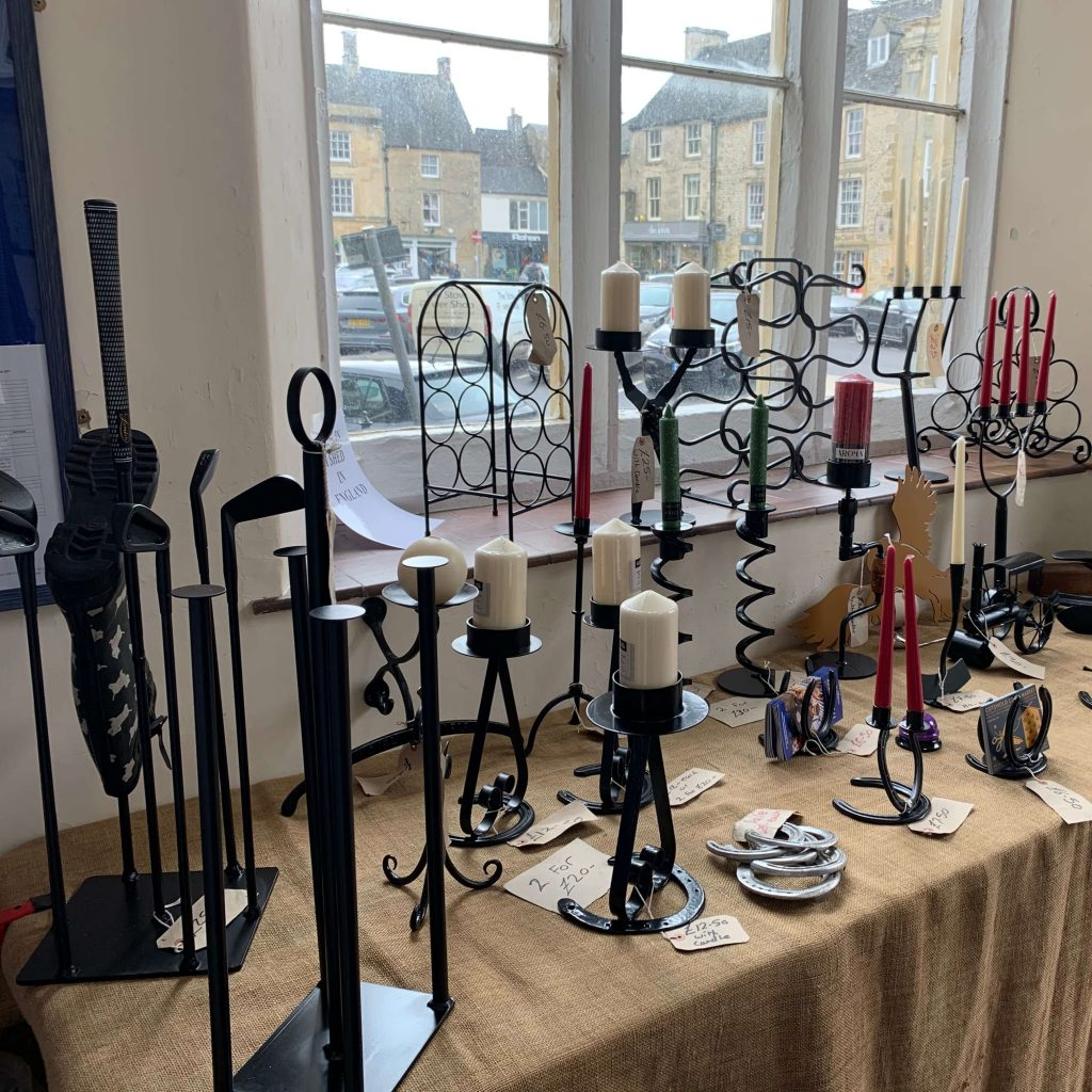 Creators of Craft Tewkesbury Crafter Gordon Hemmings Metal Work (2)