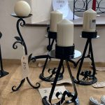 Creators of Craft Tewkesbury Crafter Gordon Hemmings Metal Work Candle Holder