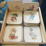 Creators of Craft Tewkesbury Crafter Jane Mckay Pyrography Beatrix Potter