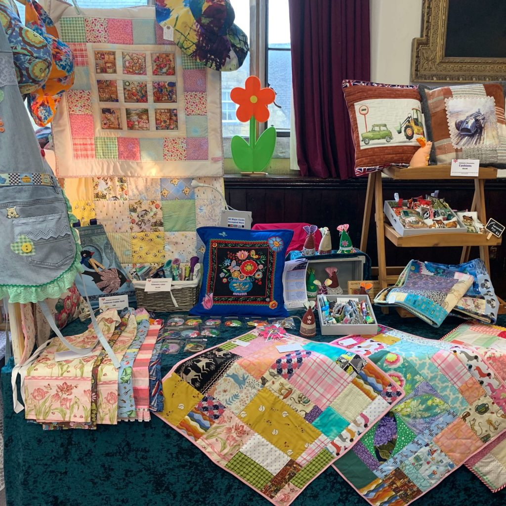 Creators of Craft Tewkesbury Crafter Jo Madden Sewing Textiles Pillowcases