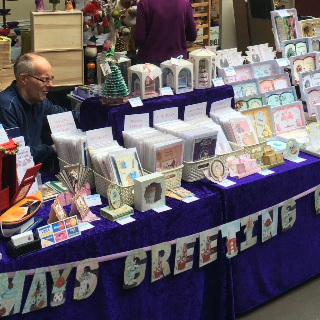 Creators of Craft Tewkesbury Crafter May & John Willavoys Card Craft