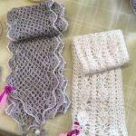 Creators of Craft Tewkesbury Crafter Mia Van Den Burgh Crochet Scarf