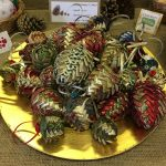 Creators of Craft Tewkesbury Crafter Penny Kells Christmas Tree Decorations