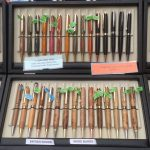 Creators of Craft Tewkesbury Crafter Peter Smith Wood Turner Pens
