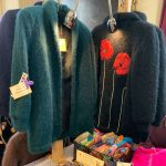 Creators of Craft Tewkesbury Crafter Sue Laurie Pickard Knitting Cardigands Mohair