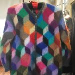 Creators of Craft Tewkesbury Crafter Sue Laurie Pickard Knitting Cardigans