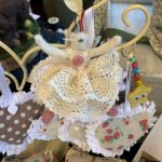 Creators of Craft Crafts Tewkesbury Crafter Susan Davies Textiles Mouse Decoration